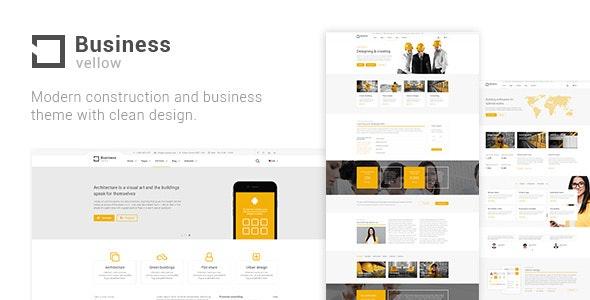 Yellow Pages WordPress theme