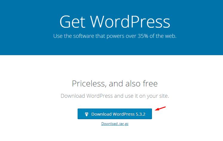 Install WordPress On A Local Host