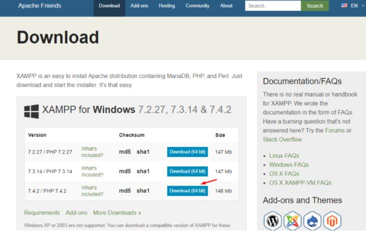 Download WordPress And XAMPP